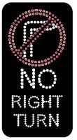 No Right Turns