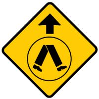 Pedestrian Crossing Ahead