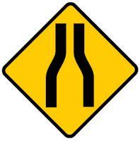 Road Narrows Ahead