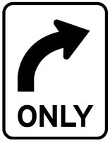 Right Turns Only