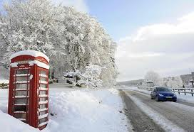 This week the UK had its earliest snow fall since 1993
