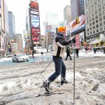 times square skiing