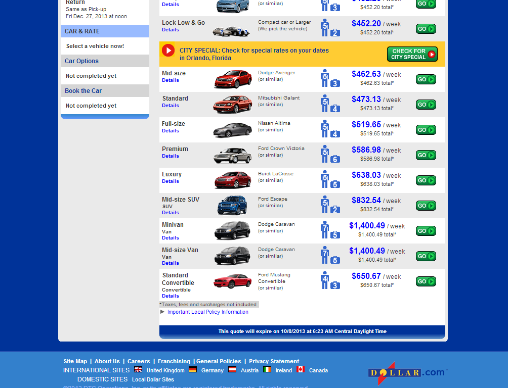 Dollar car rental coupon code