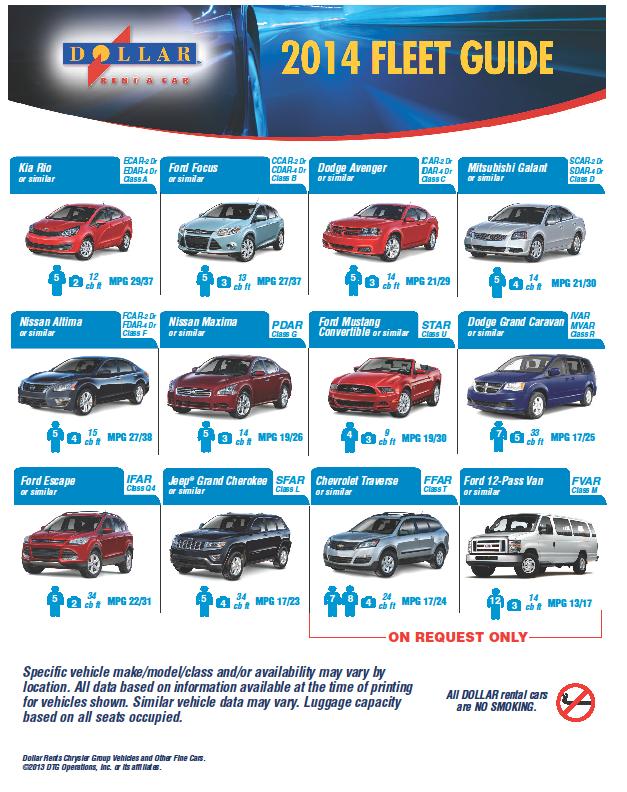dollar fleet 2014